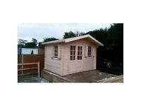 3,5 x 2,5 m High quality Log cabin (34 mm)