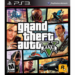 Grand Theft Auto 5 (GTA V) for PS3 -