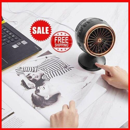 New Usb Powered Heater Fan Space Heater Portable Heater Fast Heating Thermostat