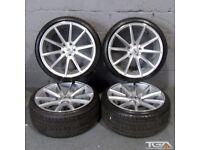 """Ex Display 19"""" OEMS IFG12 Alloy Wheels will fit Audi A4, A3 MK2 MK3 VW Passat, Jetta, Golf 5, 6, 7"""