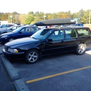 1998 Volvo V70 grey leather Wagon