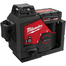 Milwaukee m123pl green 360 3 plane 4ah battery charger not drill