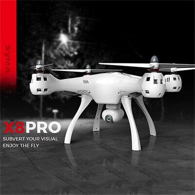 AU! SYMA X8PRO GPS 1 Key Return Drone WiFi FPV Camera X8 Pro RC Quadcopter Toy