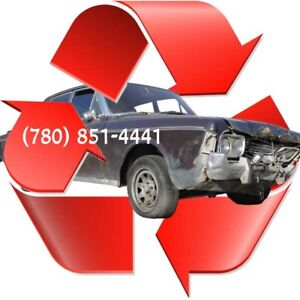 ➤ CASH FOR JUNK CARS ➤ We pay upto $1,500  ➤ (780) 851-4441