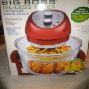 AS SEEN ON TV BIG BOSS OIL LESS FRYER Kitchener / Waterloo Kitchener Area image 1