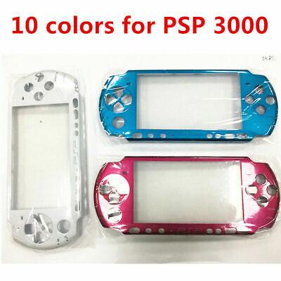 10 Farben Faceplate Hülle Case Cover Ersatz Mit Logo für SONY PSP 3000 Sony Faceplate Case