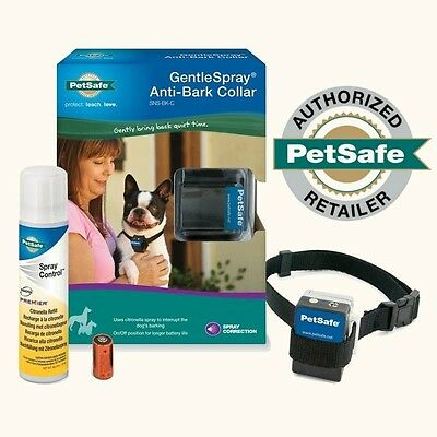 PetSafe Gentle Spray Citronella Anti-Bark Collar w/ On-Off Switch SNS-BK-C