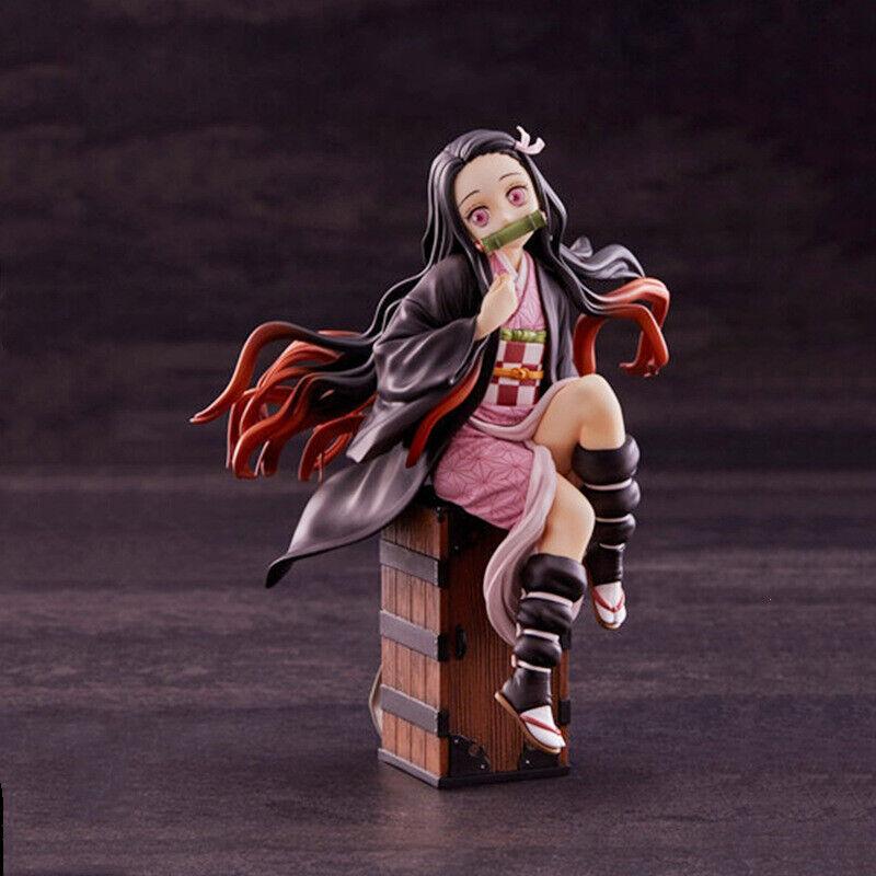 Anime Demon Slayer: Kimetsu no Yaiba Kamado Nezuko Vol.1 PVC Figure Toy In Box