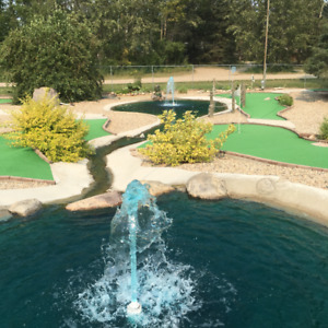 Commercial Miniature Golf and Ice Cream business for sale