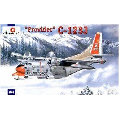 - C-123J 'PROVIDER' USAF AIRCRAFT (CHASE AIRCRAFT COMPANY) 1/144 AMODEL 1406