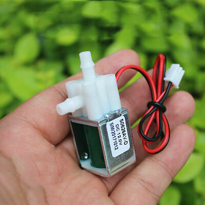 Dc 12v Micro Electric Solenoid Valve Normally Closed Pump Mini Air Water Valve
