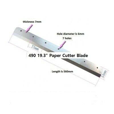 4908s 19.3 Paper Cutter Blade All Chinese Models Read Ad For Best Deal