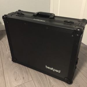 BEATPAD BY RELOOP (DJ controller) W/ TRAVEL CASE + LAPTOP STAND
