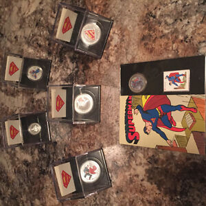 Silver,9999,ROYAL CANADIAN MINT, SUPERMAN, TRADE, GOLD,999