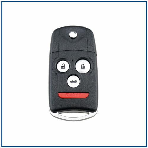 Remote Flip Key For Acura Honda TL TSX ZDX Accord Coupe 08