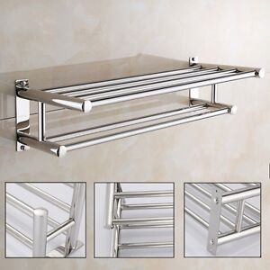 bathroom cabinet with towel rail hotel style towel rack ebay 21988