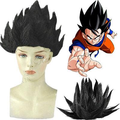 HOT DragonBall Z Super Saiyan Vegeta Son Goku Hairpiece Hair Cosplay Costume Wig (Super Saiyan Wig)
