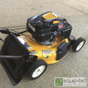 2013 cub cadet push mower