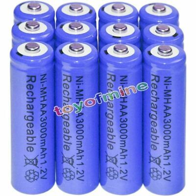 12x AA battery batteries Bulk Nickel Hydride Rechargeable NI-MH 3000mAh 1.2V USA for sale  El Monte