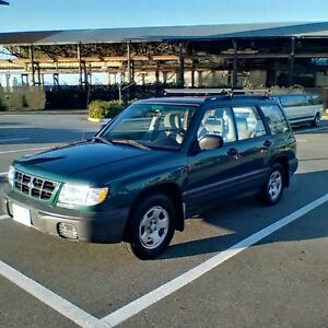 1998 Subaru Forester AWD Studded Winters