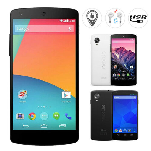 Android Phone - LG GOOGLE NEXUS 5 D821 16GB Factory Unlocked Android Smart Phone New & Sealed UK
