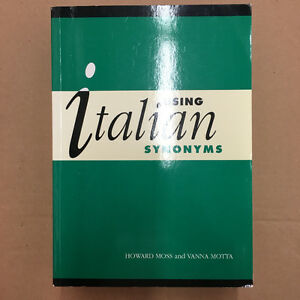 "BRAND NEW ""Using Italian Synonyms"""