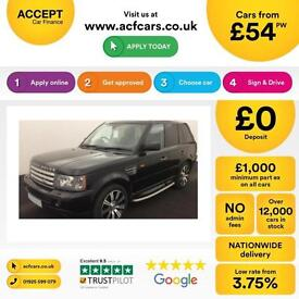 Land Rover Range Rover Sport 4.2 V8 auto 2006MY Supercharged FROM £54 PER WEEK!