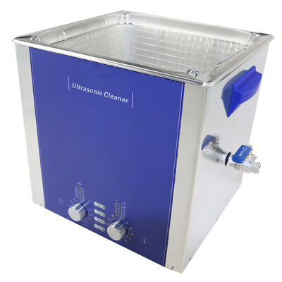 15l Degas Sweep Heated Ultrasonic Cleaner Industrial Cleaning Machine Dr-ds150
