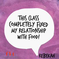 Nutrition Class starts Monday. Are you ready for lasting change?