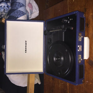 Crosley Record Player (hardly used)