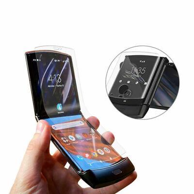 Motorola Razr 2019 Fold Screen Protector Phone Front & Back Film Made in Japan