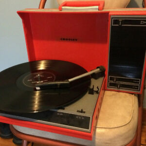 Crosley Portable Record Player