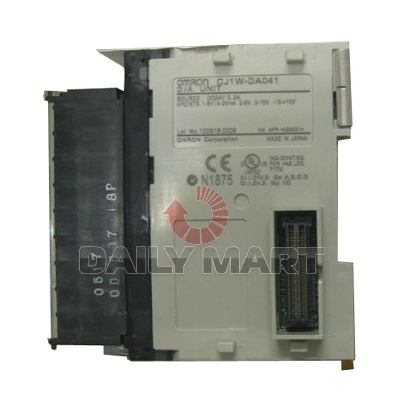 OMRON CJ1W-DA041 CJ1WDA041 PLC Analogue I/O module New in Box Free Ship