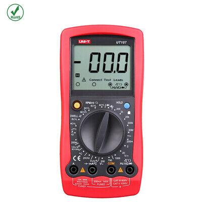 Ut107 Uni-t Portable Digital Automotive Tester Voltage Temp Multimeter Meter