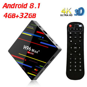 H96 Max Plus RK3328 4G/32G Android 8.1 USB3.0  Brand New