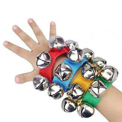 Popular Kids Musical Toy Children Shake Handbell Instrument Toy 5 Colors Choose