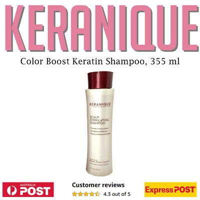 KERANIQUE Color Boost Scalp Revitalizing Keratin Shampoo 355 ml 12 oz AU STOCK!