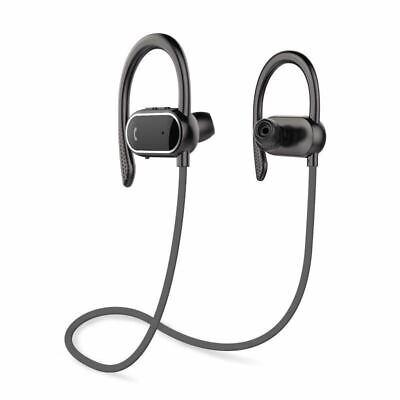 Bluetooth Earphones Noise Cancelling Sports Headphones Pedometer Auto Pairing