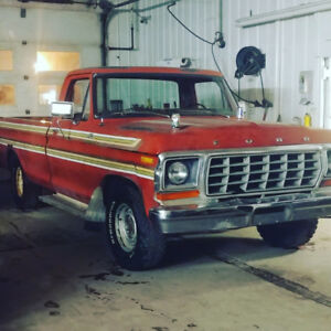 78 ford f100 custom 302/auto/2wd