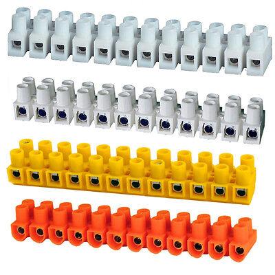 Lüsterklemme Schraubklemme 1,5 2,5 4 6 10 mm² 12 Klemmleiste Profi Qualität online kaufen