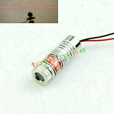 Red Line Laser Module Focus Adjustable Laser Head Industrial Grade 5mw 650nm
