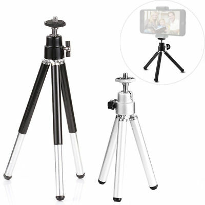 Black aXXcssqw9bFoldable Flexible Mini Tripod Stand Holder for Gopro Nikon Canon Sony Camera