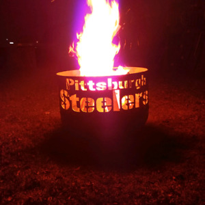 Pittsburgh Steelers fire pit