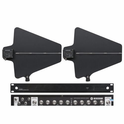 UA844  Antenna Distribution System Signal Booste For shure Sennheiser Microphone