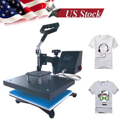 9x12 360 Swing Away Heat Press Machine Sublimation Transfer Machine Diy Gifts