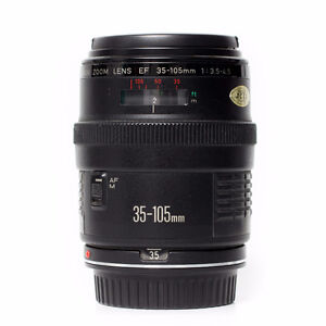 Canon EF Zoom 35-105mm F3.5-4.5