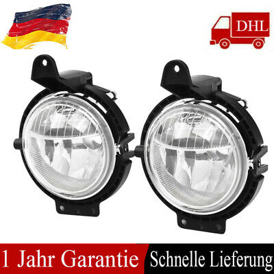 Nebelscheinwerfer Set f/ür R56 R50 R53 Cabriolet R52 R55 H8 W5W