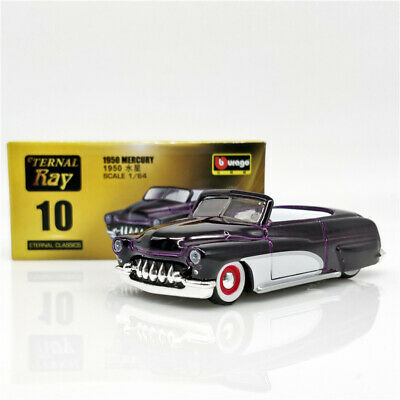 Bburago 1:64 Eternal Ray Mercury 1950 Diecast Model Car