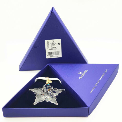 Swarovski Crystal ANNUAL EDITION 2021 LARGE CHRISTMAS ORNAMENT 5557796 AUTHENTIC