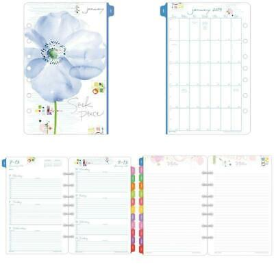 Kathy Davis For Day-timer 2019 Planner Appointment Book Refill 5-12 X 8-12